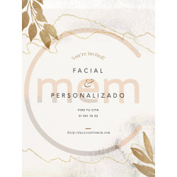 Tarjeta regalo facial premium
